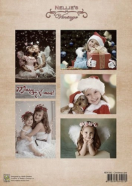 "NEVI062vintage ""Christmas girls"""