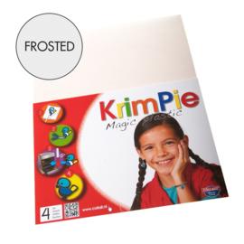 Collall Krimpie - Magic Plastic frosted 4 Vellen COLKPFR4