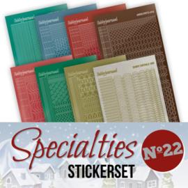 Specialties 22 Stickerset