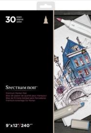 Spectrum Noir Spectrum Noir 9x12 Inch Premium Marker Paper Pad (SPECN-MPAD9)