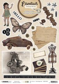 Studio Light A4 Cutting Sheet By Jolanda de Ronde nr.03 BJ-ES-CS03