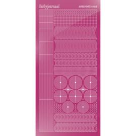 Hobbydots sticker - Mirror Pink