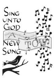 TCW2156 Sing Unto 6x9