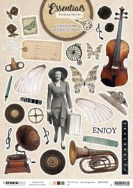 Studio Light A4 Cutting Sheet By Jolanda de Ronde nr.02 BJ-ES-CS02