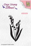 """Nellie Snellen - SIL065 Silhouet clear stamps """"Lily of the valley"""""""
