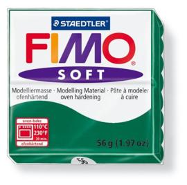 Fimo soft boetseerklei 56 g smaragd