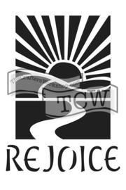 TCW2153 Rejoice 6x9
