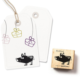 Cats on Appletrees - 2284 - Stempel - Wild zwijn Burkhard