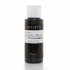 Docrafts - Acrylic Paint (2oz) - Noir