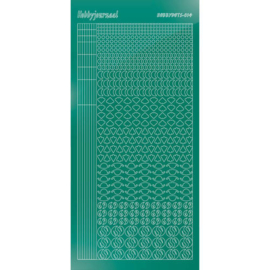 Hobbydots sticker - Mirror - Christmas Green