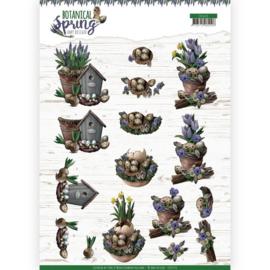 Amy Design -3D Knipvel - Botanical Spring - Spring Arrangement CD11470