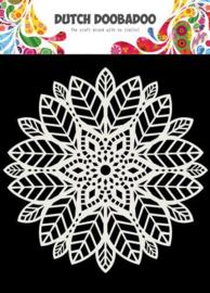 Dutch Doobadoo Mask Art 15X15cm Mandala leaves 470.715.622