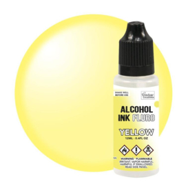 Couture Creations Alcohol Ink FLURO Yellow