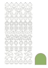 Sticker Charm - Mirror Lime