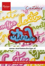 Marianne design Creatables stencil Lente lr0645