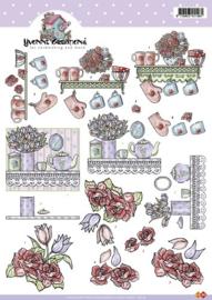 3D Knipvel - Yvonne Creations - Keuken - CD10179