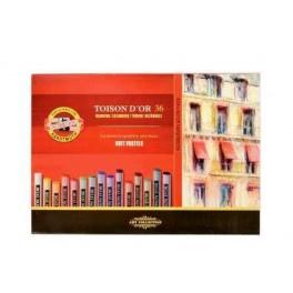 Koh-i-noor Toison Dr soft pastelkrijt, doos 36 kleuren