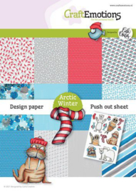 CraftEmotions Design Arctic Winter 12 vel + push out vel - A5