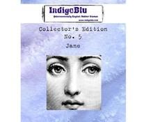 IndigoBlu Collectors Edition 5 Rubber Stamp - Jane (IND0358)