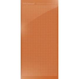 Hobbydots sticker Sparkles 01 Mirror Copper
