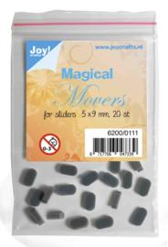 Joy! Magical Movers voor sliderstencils  5x9 mm 20 Stuks - 6200/0111