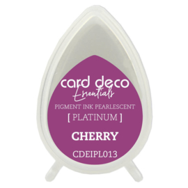 Card Deco Essentials Fast-Drying Pigment Ink Pearlescent Cherry