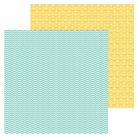 5965: catching a wave double-sided cardstock