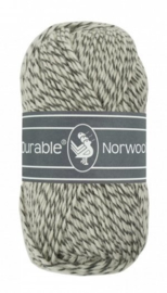 Durable Norwool Grijs melee