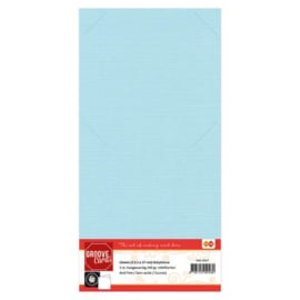 Groove cards Babyblauw