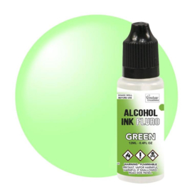 Couture Creations  Alcohol Ink FLURO Green