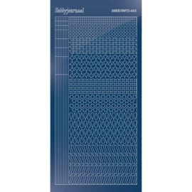 Hobbydots sticker - Mirror - Blue