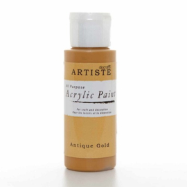 Docrafts - Acrylic Paint (2oz) - Antique Gold