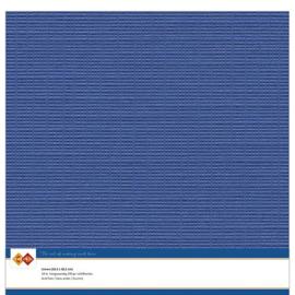 Linnenkarton - 30.5 x 30.5 - Ultramarijn