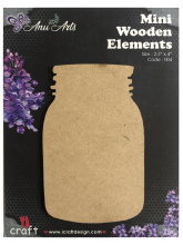 Icraft Mini wooden elements 004 (pot)