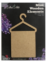 Icraft Mini wooden elements 015 (handdoek)