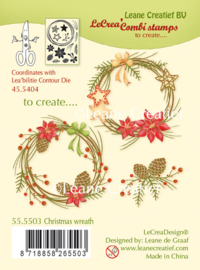 Leane Creatief - Christmas Wreath
