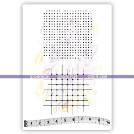 Katzelkraft - Mini Background - Rubber Stamp - KTZ130