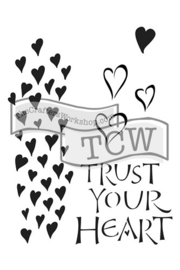 TCW2147 Trust your Heart 6x9