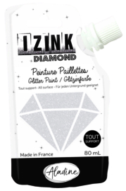 IZINK Diamond glitterverf/pasta - 80 ml, parelmoer