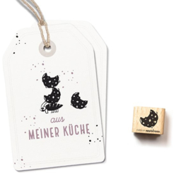 Cats on Appletrees - 27281 -  Ministempel - Cookie 1
