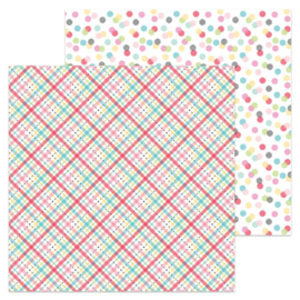 5944: plaid about you double-sided cardstock