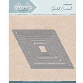 Card Deco Essentials - Nesting Dies - Bullet Diamond