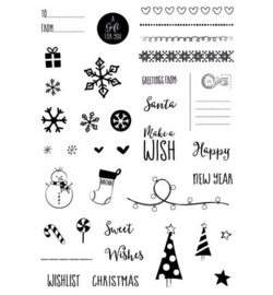 CUT-IES - Clear steamps - Little presents