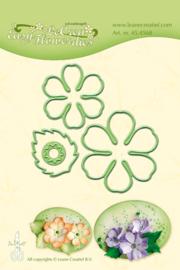 Leane Creatief - Easy flower die 002