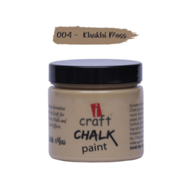 icraft chalk paint 50ml khakh moss 004
