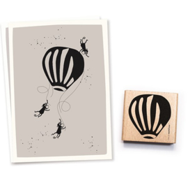 Cats on Appletrees - 2540 - Stempel - Luchtballon