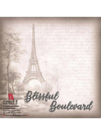 "iCraft - Blissful Boulevard - Paperpad 12""x12"""