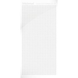 Hobbydots sticker Sparkle 01 Adhesive White