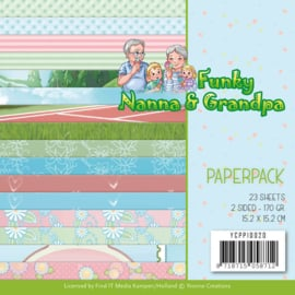 Yvonne Creations - Paperpack - Funky Nanna's YCPP10020