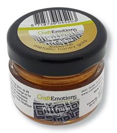 CraftEmotions Wax Paste metallic - honing goud 20 ml